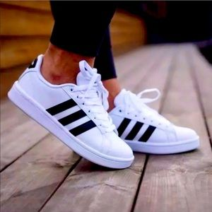 Best 25 Deals for Black Adidas Shoes With White Stripes | Poshmark